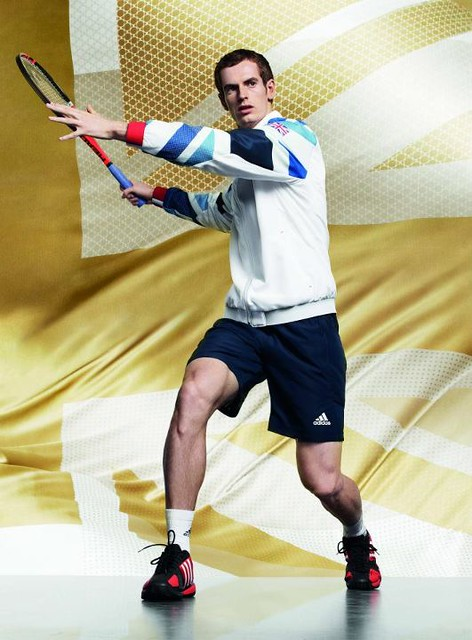 Andy Murray adidas Olympic kit