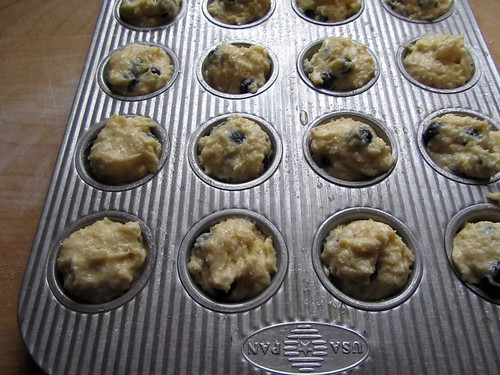 Filled Muffin Tin
