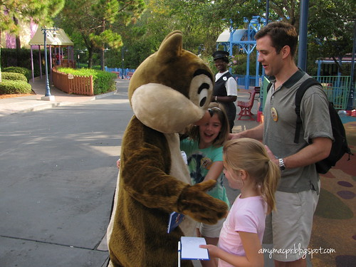 Meeting Chip and Dale v2