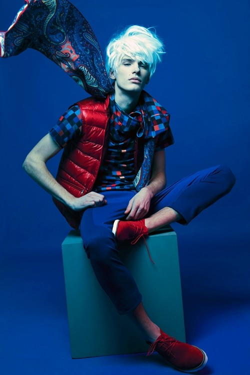 Factory — Fashion Magazine, April 2012 — Borys Starosz and Tomek Szalanski by Krzysztof Wyzynski