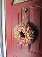 Peeps make great decorations and I'm now using the wreath for a second year and it still looks great.