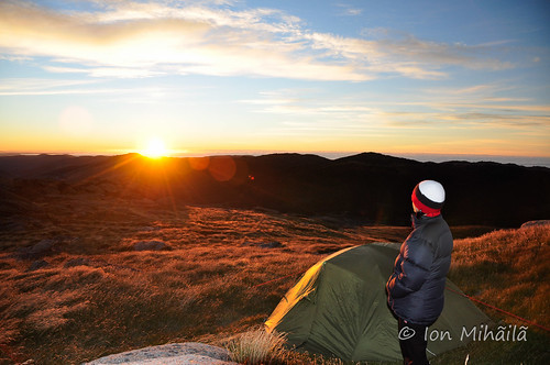 aniela australia kosciuszko landforms mountain mountains snowymountains sunrise tent