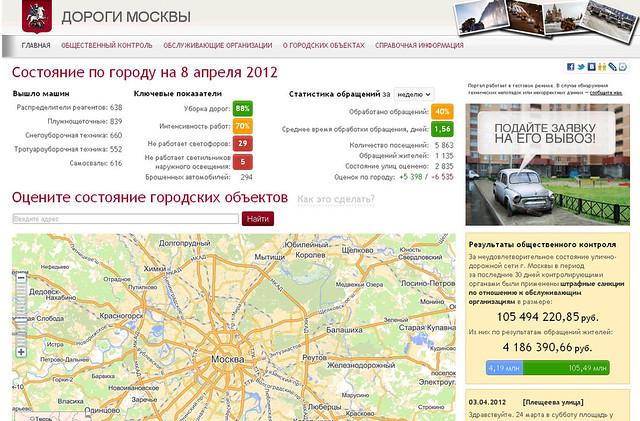 Дороги Москвы mini