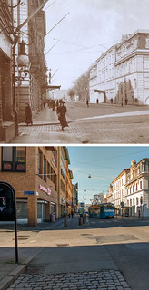 Gothenburg, Brunnsparken 1907 / 2012