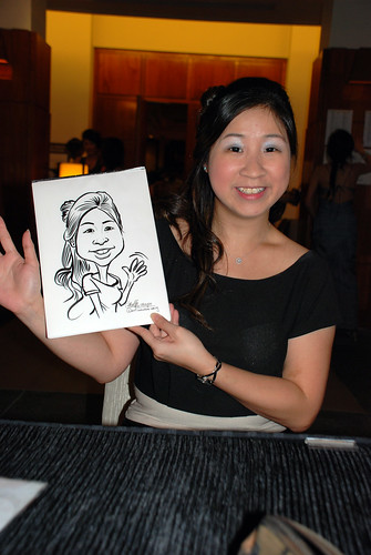 caricature live sketching for Rio Tinto Dinner & Dance - 6