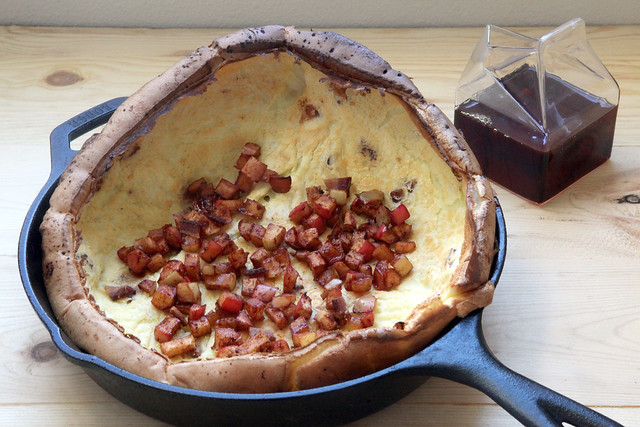 Dutch Baby with Bacon and Roasted Apples 2