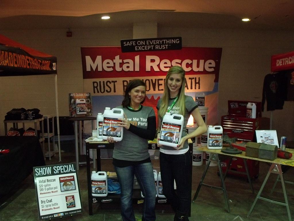 Metal Rescue™ Girls Autorama 2011 | Work Shop Hero™ demonstr