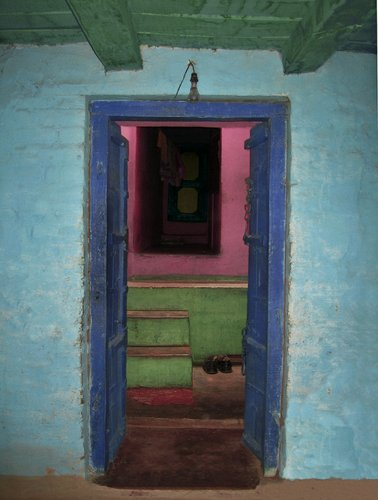Jeffrey Becom, Shoes, Chandla, Madhya Pradesh, India, 2008