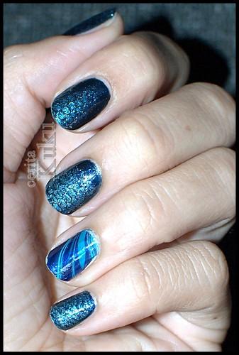 blue snake skin marble