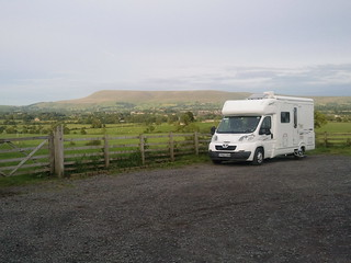 Keith certainly has a lovely view from this Brit Stop farm shop and brewery