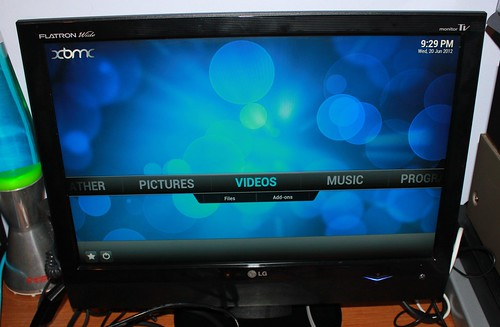 XBMC on the Raspberry Pi