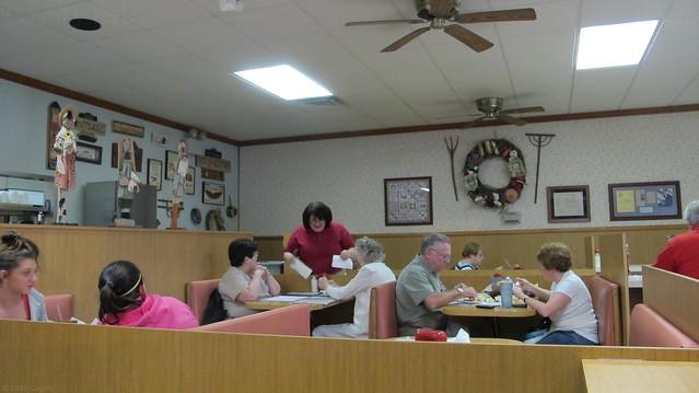 Tom's Kitchen interior