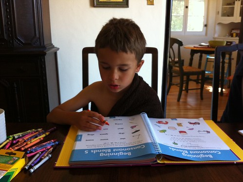 Ezra's workbook