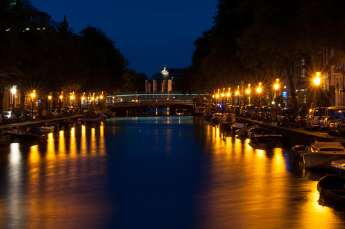 Night Amsterdam by Valentyn Chub