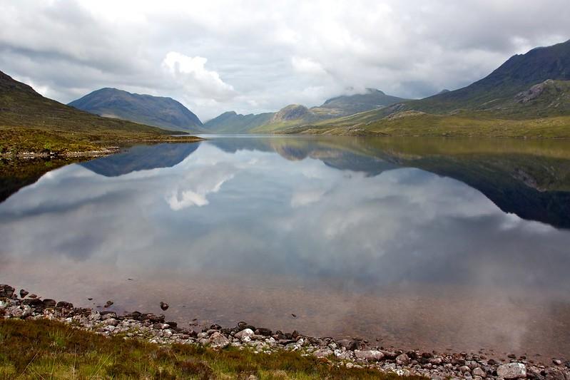 Utter stillness, Lochan Fada
