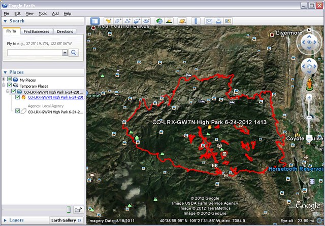 how to use gps receiver with google earth