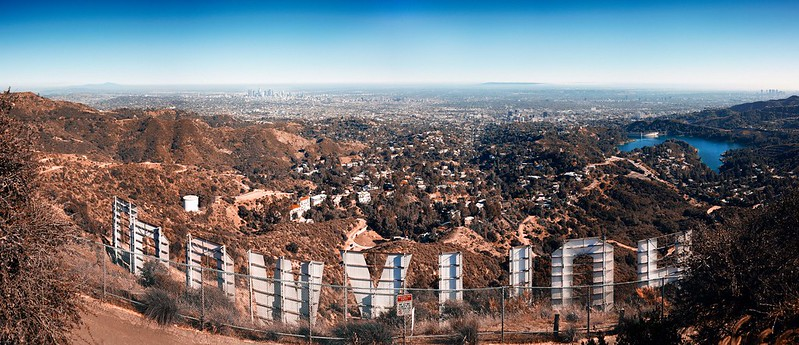 Hollywood Sign Panorama