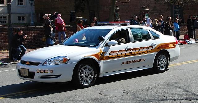 Alexandria Sheriff's cruiser