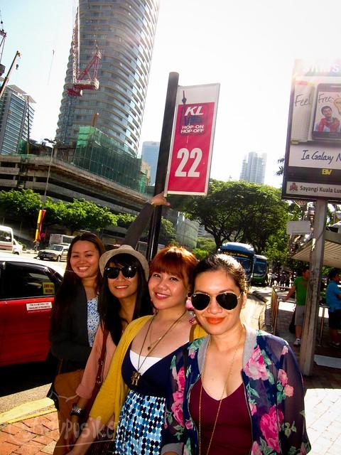 KL HOHO Bus stop 22