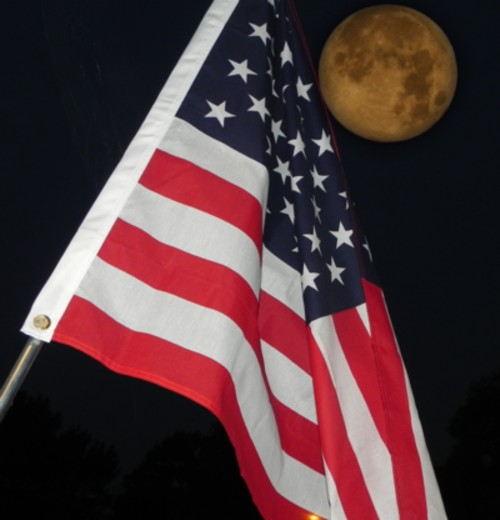 07-03-2012_Flag and Moon