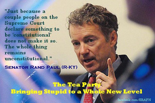 rand paul the idiot