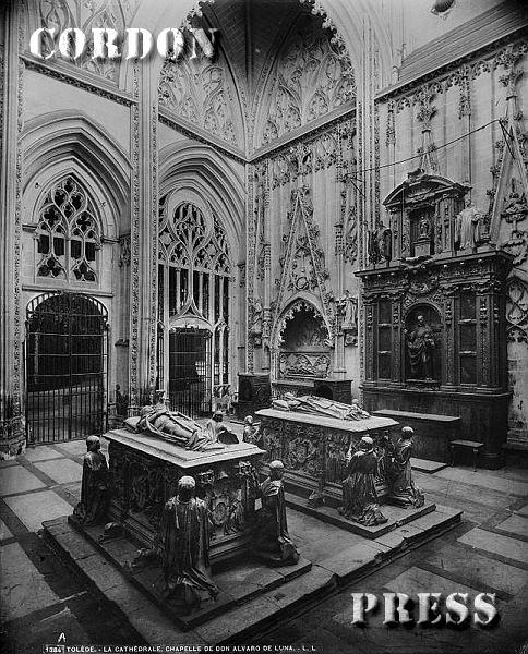 Capilla del Condestable Álvaro de Luna en la Catedral de Toledo hacia 1875-80. © Léon et Lévy / Cordon Press - Roger-Viollet