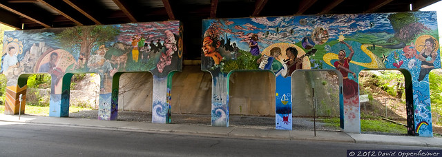 flickriver asheville mural project pool