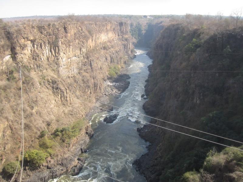 Zambezi River  Zimbabwe Africa