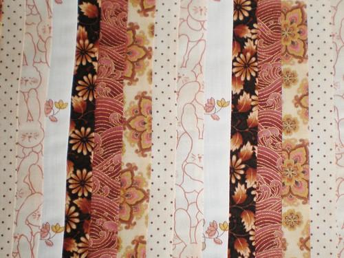 Sewn strips