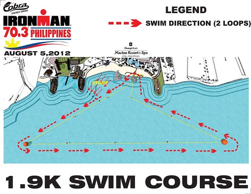 2012 Swim Course