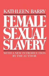 cover of female sexual slavery, which is red and has the book title in white letters