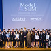 Participants of the 2012 Model ASEM Summit with Mr Zhang Hongtie, Director of ASEF People-to-People Exchange.