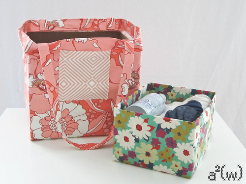 asquaredw pattern: Any Size Box-Bottom Bags