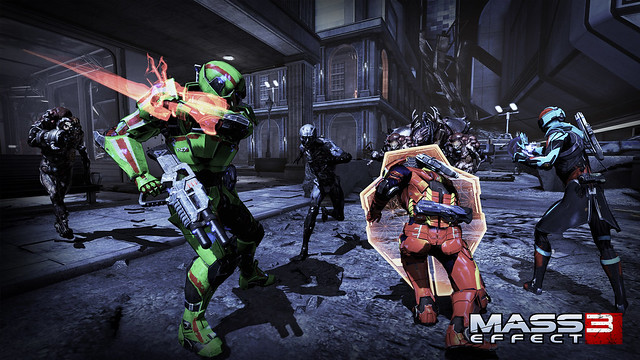 Mass Effect 3: Earth Multiplayer DLC Announced