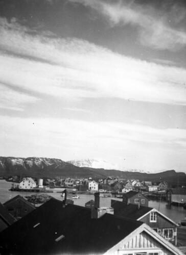 Sørbyen med Nordbyen i bakgrunnen