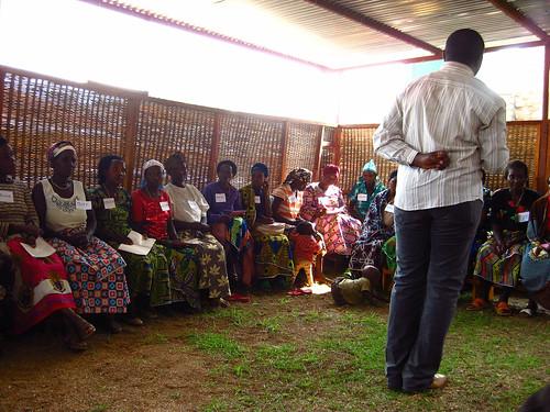 Yves Teaching Women about Their Human Rights - Femmes en Détresse