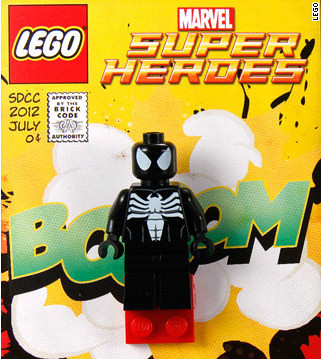 SDCC 2012 Exclusive Black Suit Spider-man