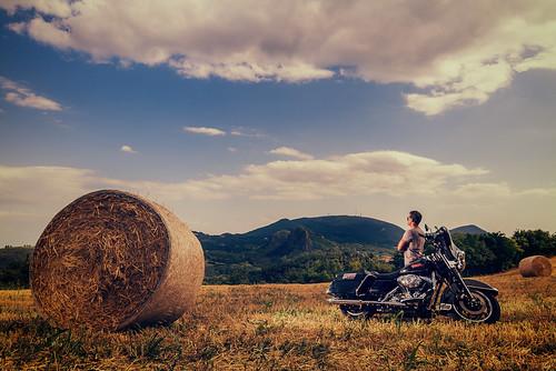 Harley Davidson & Malboro Man