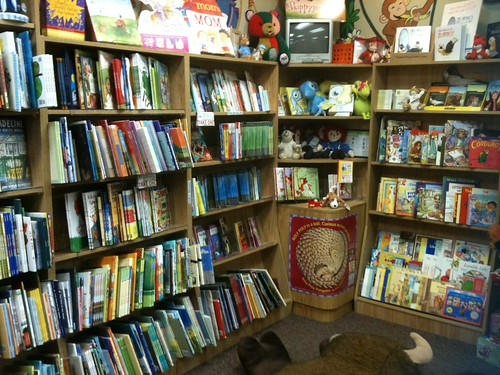 Kids books at Prairie Pages bookstore