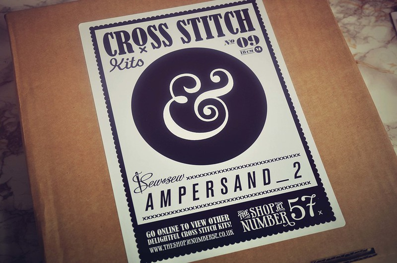 ampersand cross stick 3