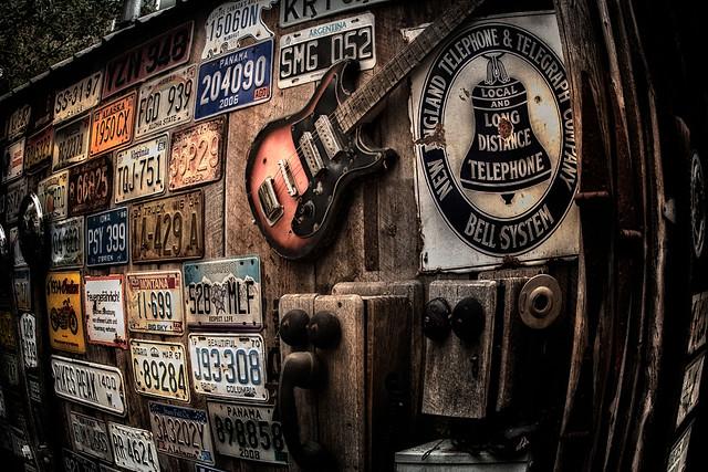 Telluride garage siding