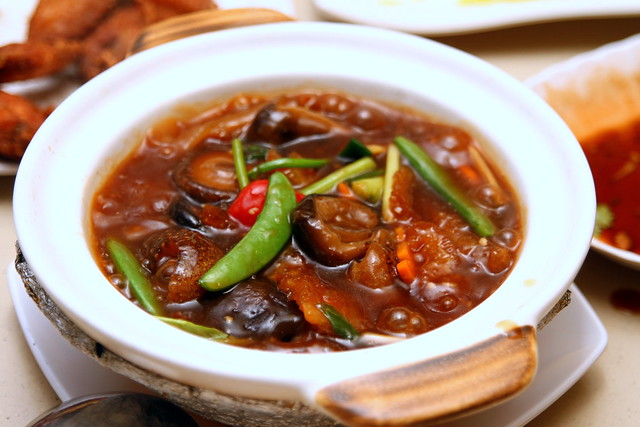 Kam Jia Zhuang Seafood: Claypot Sea Cucumber with Fish Maw