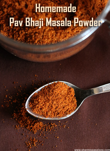 Homemade Pav Bhaji Masala Powder