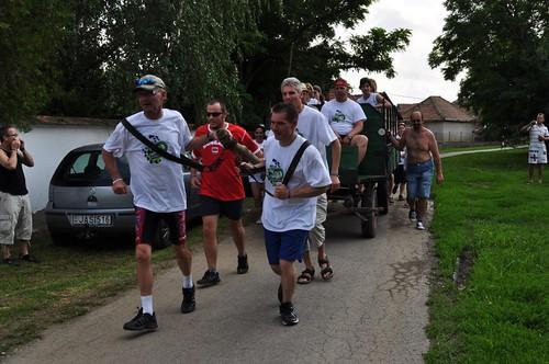 Tiszavölgy kalandtúra - 3. hétvége: Szekeret húztunk Tiszaladányban