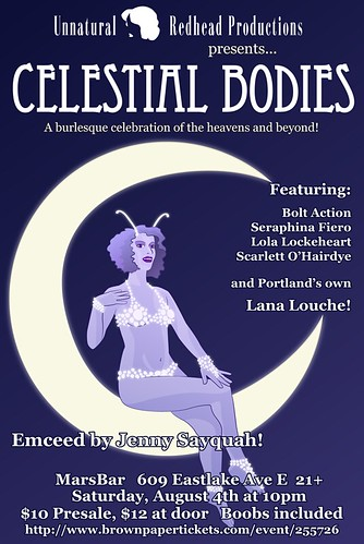 Win Tickets ($24): Celestial Bodies - A Burlesque Celebration of the Heavens and Beyond | Sci Fi Burlesque