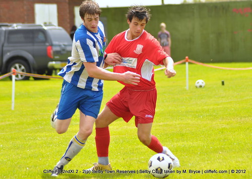 Cliffe FC 2ndXI 2 - 2(p) Selby Town Reserves (Selby Cup) 4Aug12