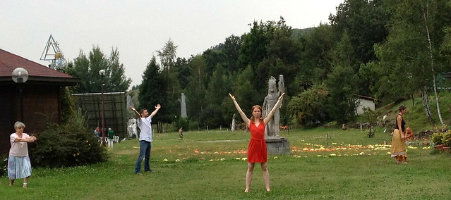 Sacred Dance in the fields