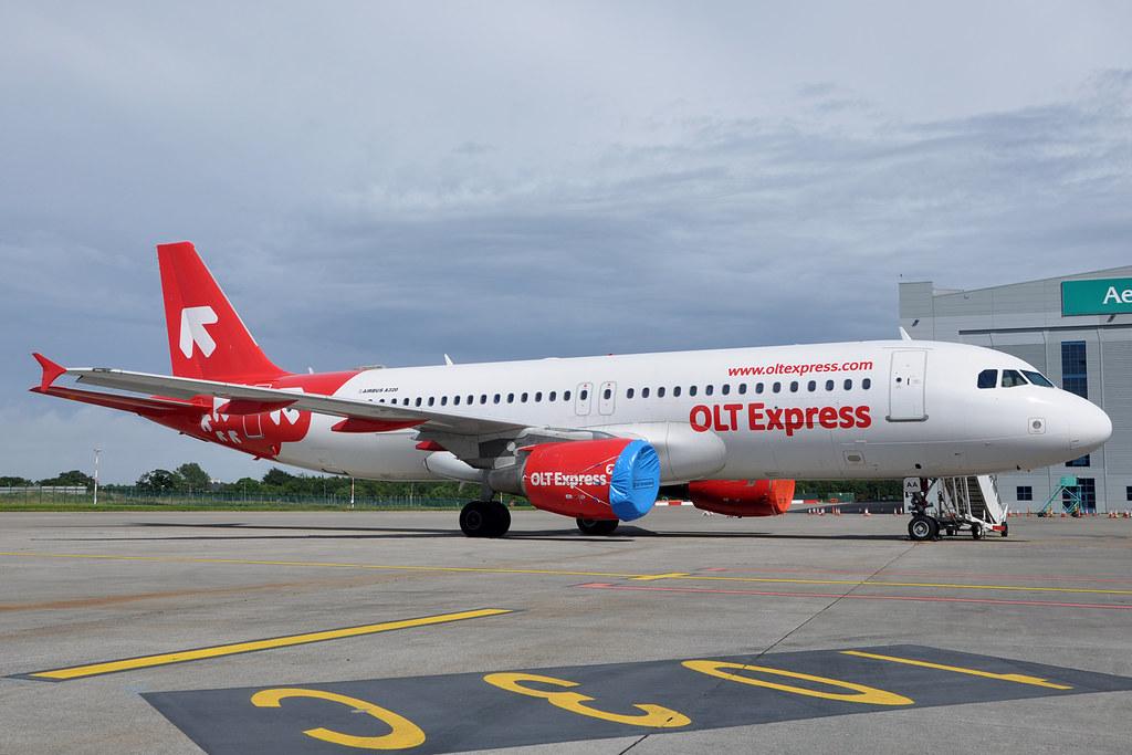 SP-IAA A320-214 Olt Express Poland