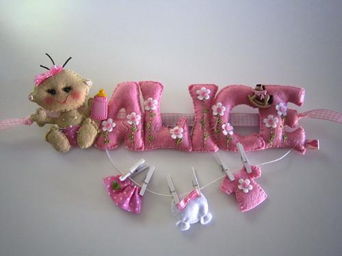 ♥♥♥  As letrinhas da Alice... by sweetfelt \ ideias em feltro