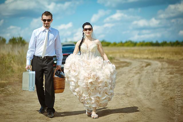 Свадьба в песках